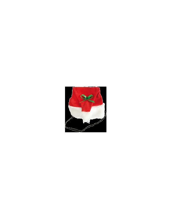 Record Cappellino Rosso Natalizio 14x18 cm