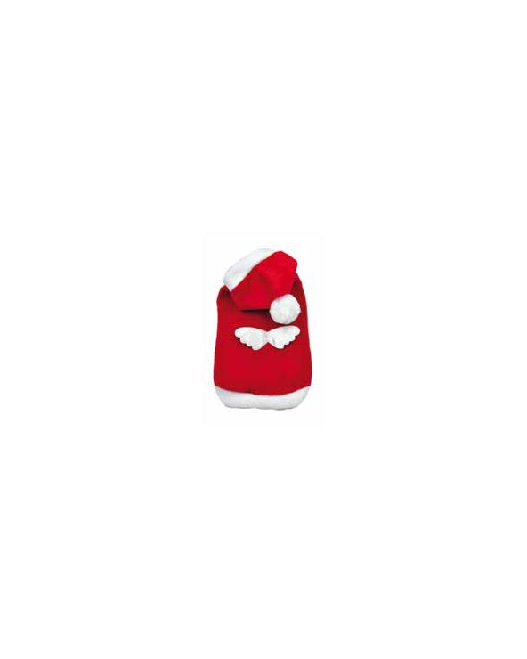 Record Felpa Angelo del Natale Rossa