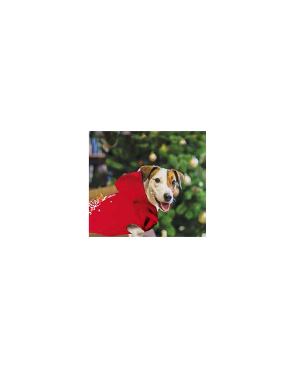 Record Felpa Buon Natale Rossa