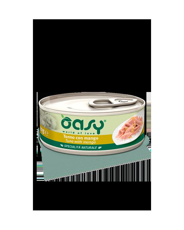 Oasy Cat Specialità Naturali Tonno con Mango Lattina 70 g