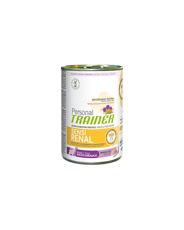 Personal Trainer Dog Sensirenal Adult Medium Maxi Patè 400 g