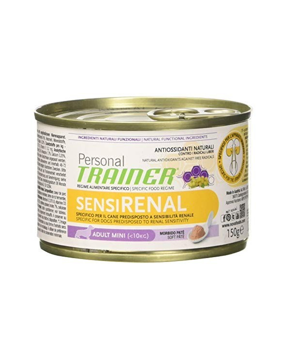 Personal Trainer Dog Sensirenal Adult Mini Patè 150 g