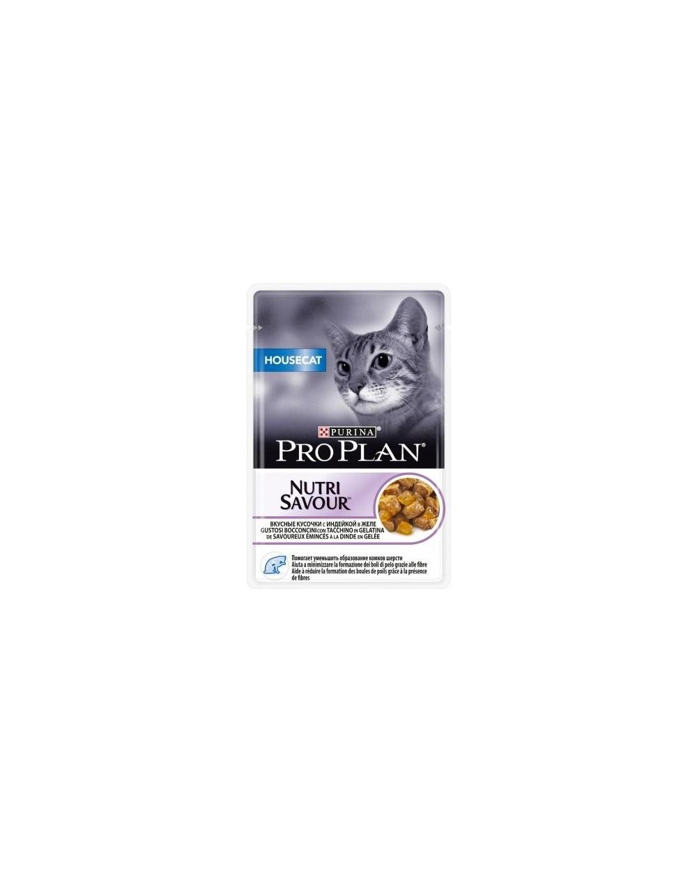 Pro Plan Housecat Nutrisavour  con Tacchino in Gelatina