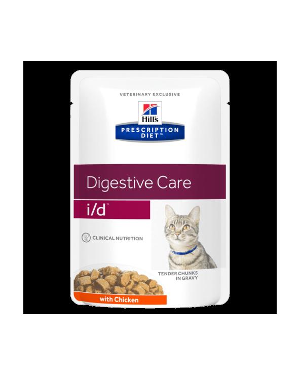 Hill's Feline Prescription Diet I/D Bocconcini in Salsa con Pollo Bocconcini in Salsa 85 g