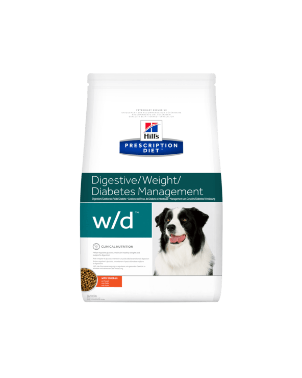 Hill's Canine Prescription Diet W/D Secco 12 kg