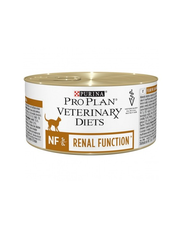 Pro Plan Cat Veterinary Diets Feline NF Renal Function Lattina in Patè 195 g