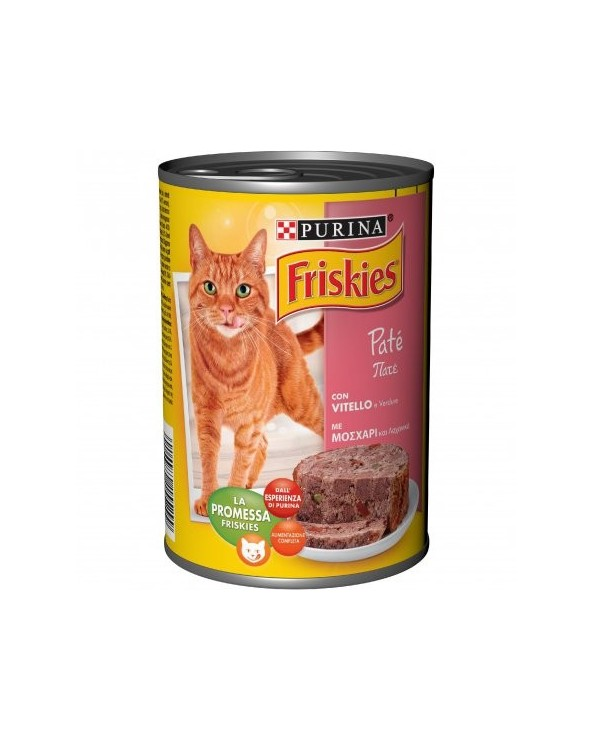 Friskies Cat Patè Vitello e Verdure 400 g