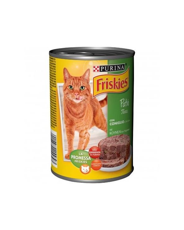 Friskies Cat Patè Coniglio e Verdure 400 g