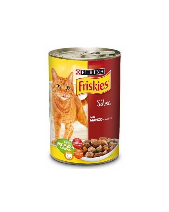 Friskies Cat Bocconcini in Salsa con Manzo e Verdure 400 g