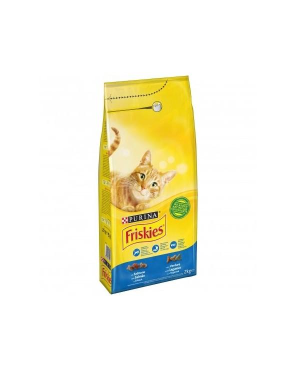 Friskies Cat Adult Salmone e Verdure 2 kg