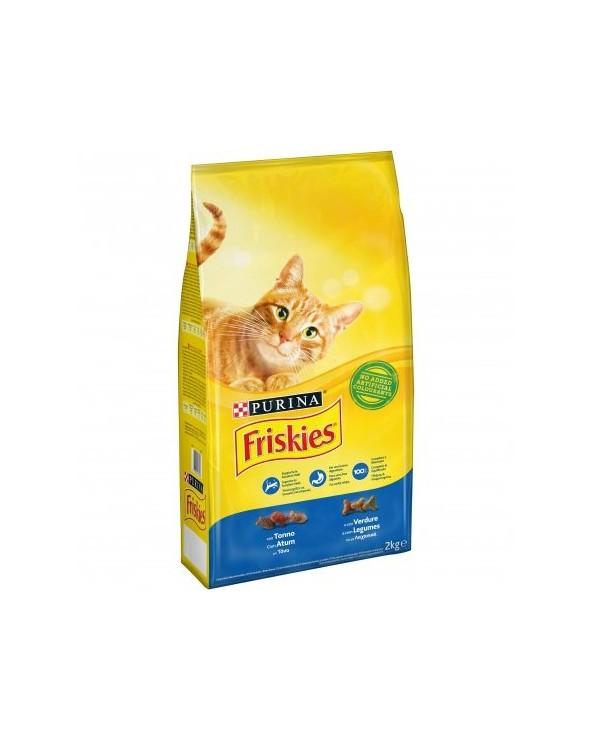 Friskies Cat Adult Tonno e Verdure 2 kg
