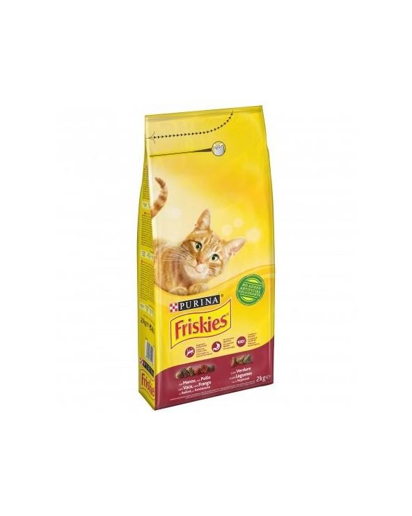 Friskies Cat Adult Manzo Pollo e Verdure 2 kg