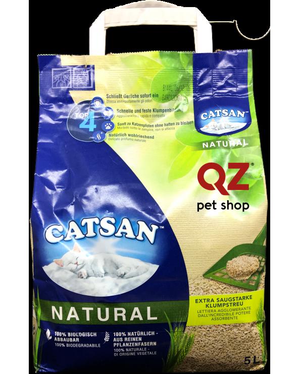 Catsan Natural Lettiera Agglomerante 5 L