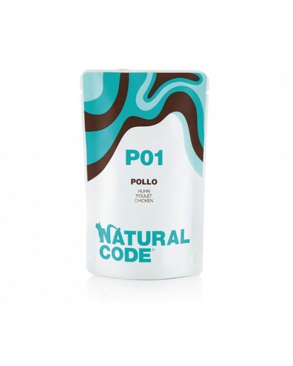 Natural Code Cat Pouches P01 Pollo Bustina 70 g