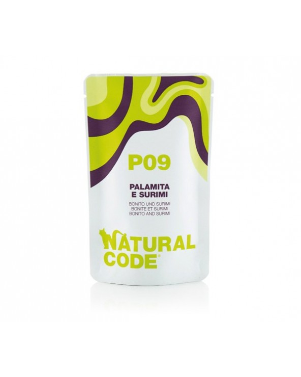 Natural Code Cat Pouches P09 Palamita e Surimi Bustina 70 g