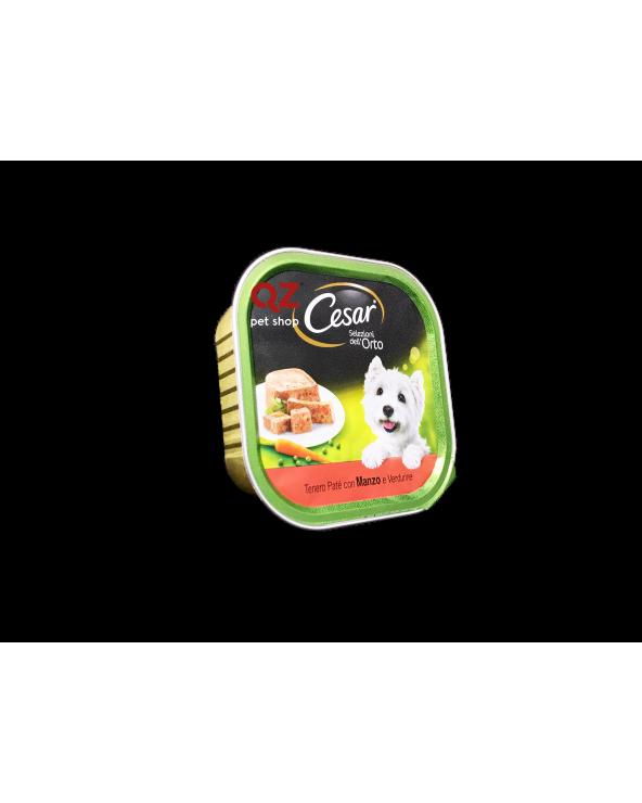 Cesar Selezione dell'Orto Tenero Patè con Manzo e Verdurine 300 g