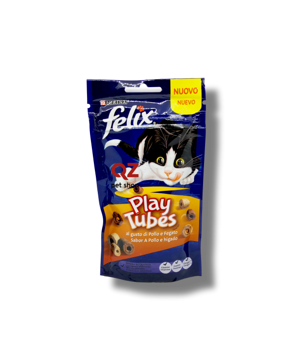 Felix Snack Play Tubes con Pollo e Fagato 50 g