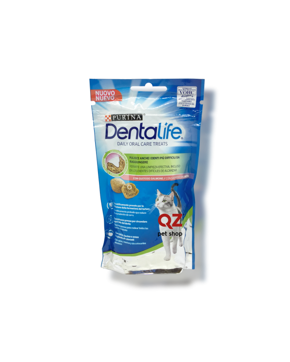 Purina DentaLife Cat Snack Igiene Dentale con Salmone 40 g