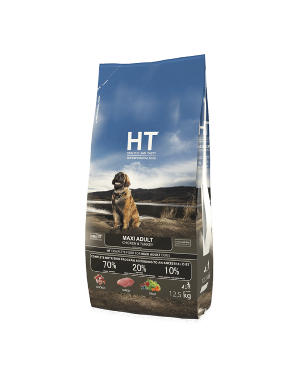HT Healthy and Tasty Adult Maxi con Pollo e Tacchino 12,5 kg