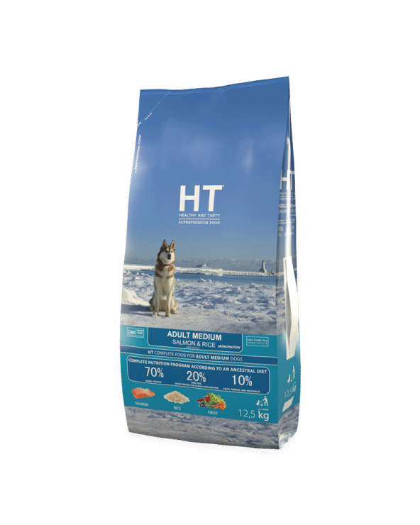 HT Healthy and Tasty Adult Medium con Salmone 3 kg