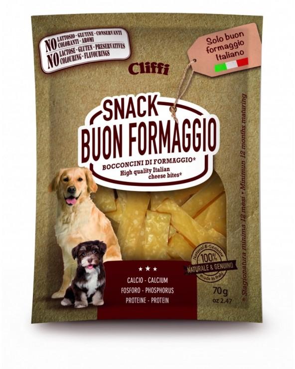 Cliffi Snack BuonFormaggio Bocconcini di Formaggio 70 g