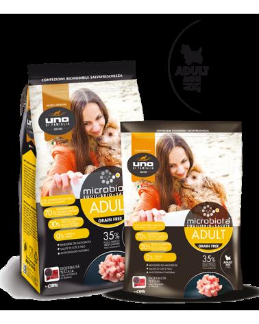 UNO di Famiglia Microbiota Adult Mini con Pollo Fresco Grain Free 2 kg