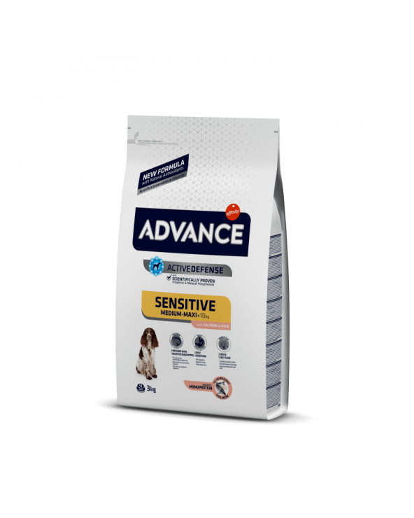 Advance Adult Sensitive con Salmone e Riso All Breeds 12 kg