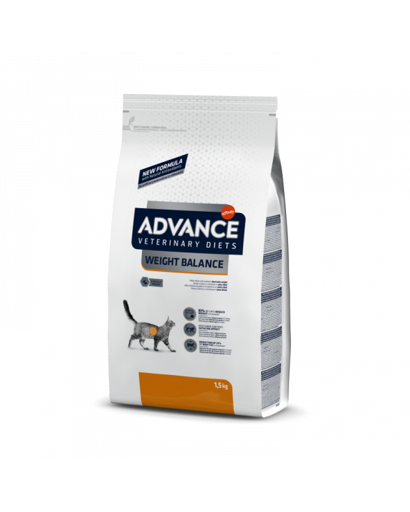 Advance Cat Veterinary Diet Weight Balance Obesity 1.5 kg