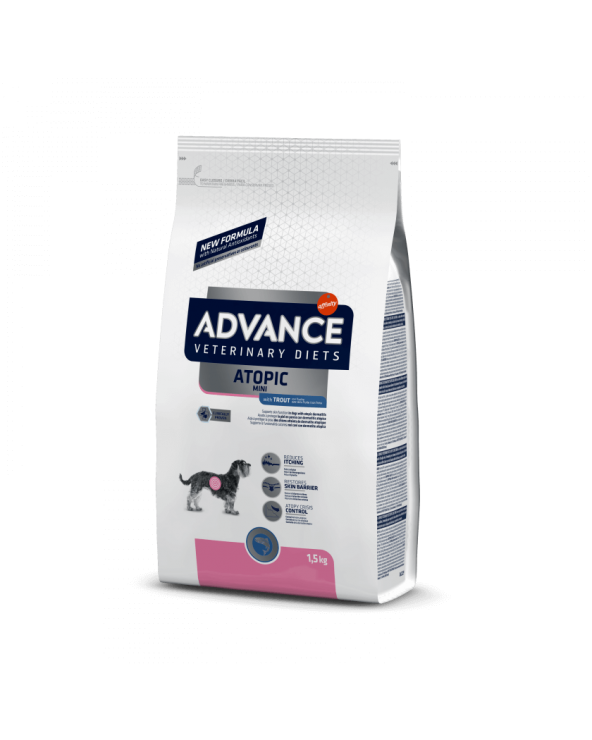 Advance Dog Veterinary Diet Atopic Adult Small & Mini con Trota 1.5 kg