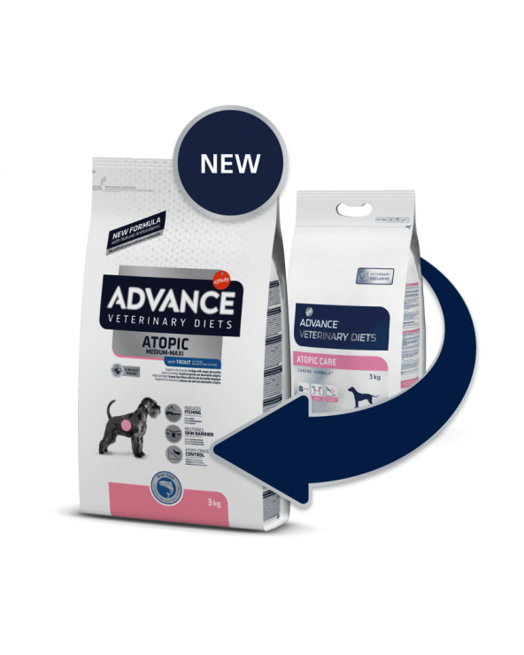 Advance Dog Veterinary Diet Atopic Adult Medium & Maxi con Trota 3 kg