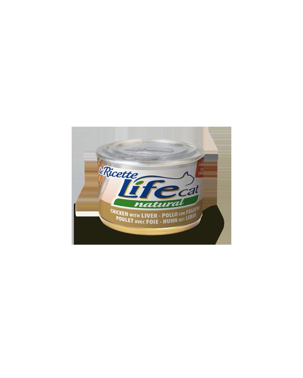 Life Cat le Ricette Pollo con Fegatini 150 g
