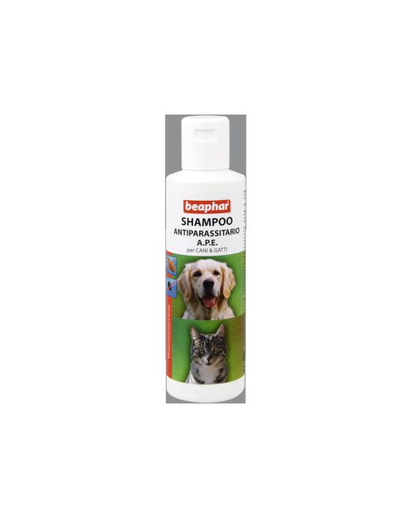 Beaphar Shampoo Antiparassitario A.P.E. per Cani e Gatti 200 ml