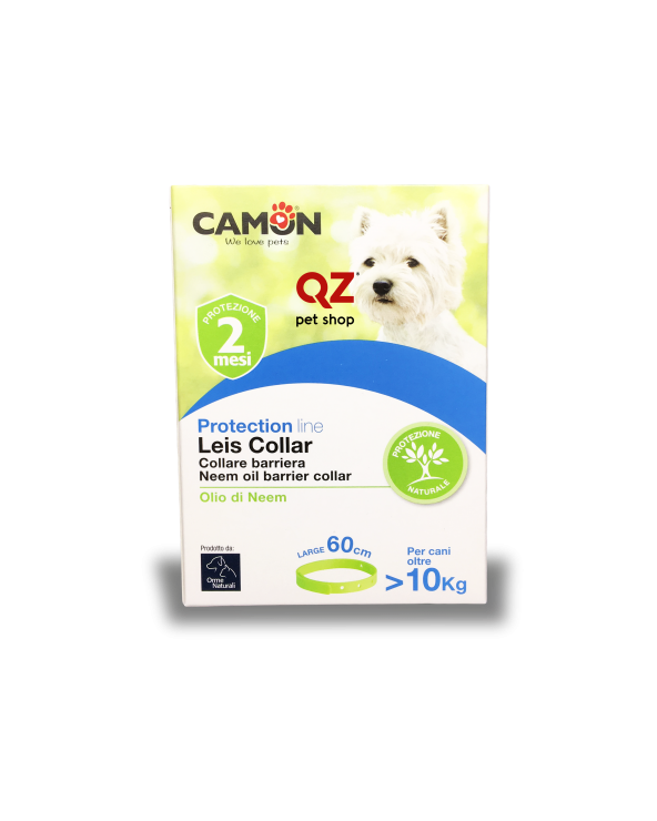 Camon Protection Collare Barriera Leis Collar con Olio di Neem - Large 60 cm