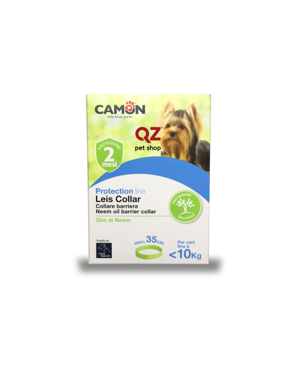 Camon Protection Collare Barriera Leis Collar con Olio di Neem - Small 35 cm