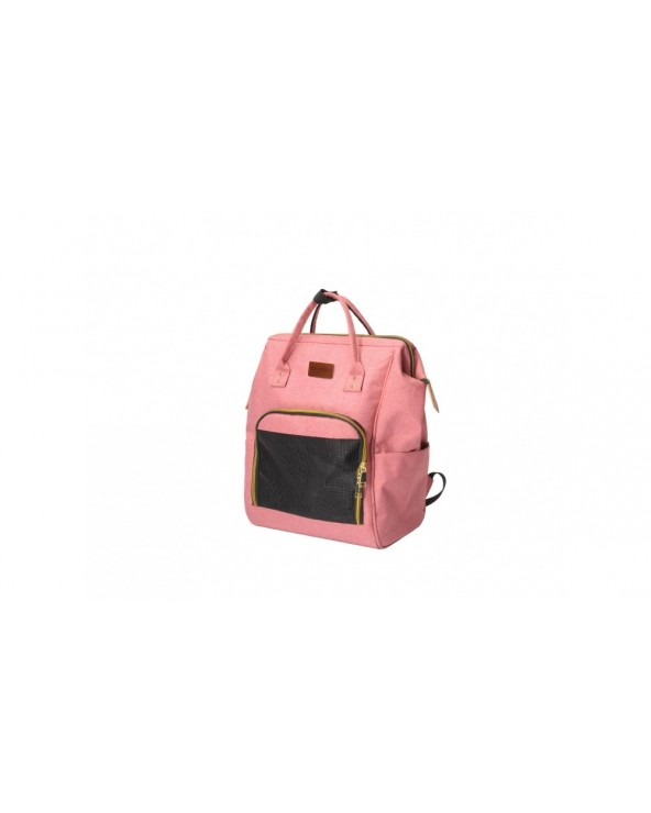 Camon Borsa Trasportino a Zainetto Pet Fashion in Denim Rosa