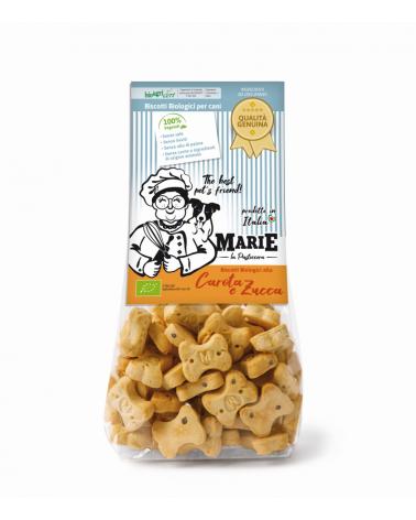 Marie La Pasticcera Biscotti Biologici per Cani con Carota e Zucca Bio - 210 g