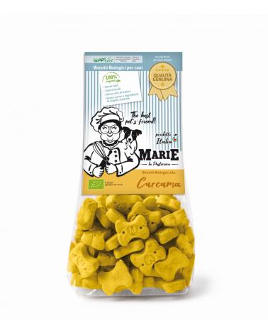 Marie La Pasticcera Biscotti Biologici per Cani con Curcuma Bio - 210 g