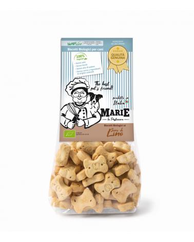 Marie La Pasticcera Biscotti Biologici per Cani con Semi di Lino Bio - 210 g