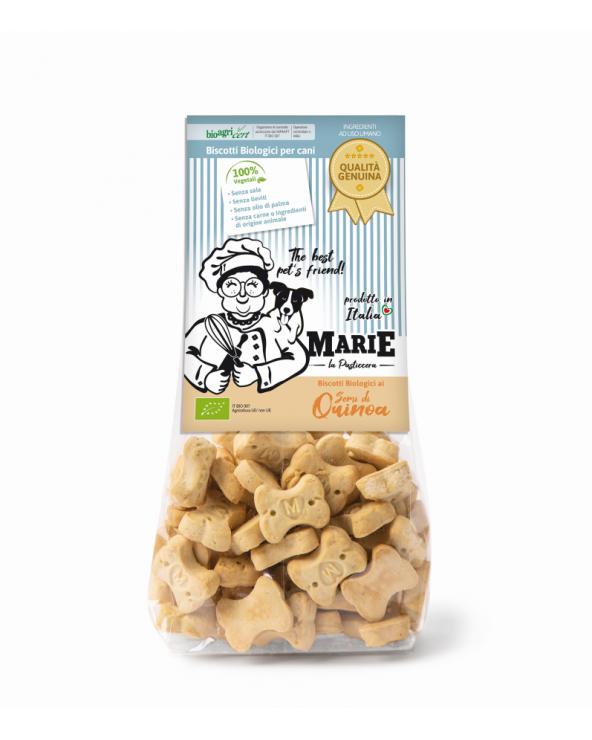 Marie La Pasticcera Biscotti Biologici per Cani con Semi di Quinoa Bio - 210 g