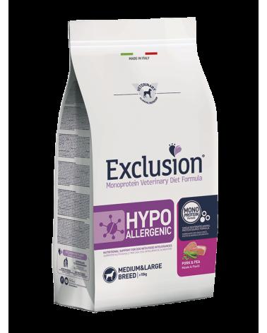 Exclusion Diet Hypoallergenic Maiale e Piselli Medium e Large 2 kg
