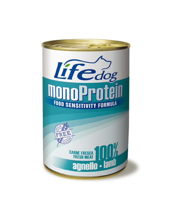 Life Dog Patè Monoproteico per Cani con Agnello 400 g