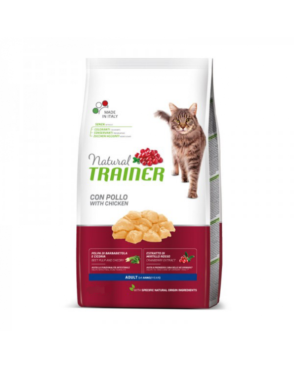 Natural Trainer Cat Adult con Pollo Fresco 1.5 kg