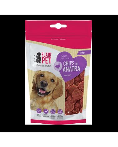 Flair Pet Snack Naturali Chips di Anatra Busta 90 g
