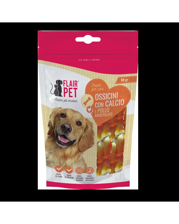Flair Pet Snack Naturali Filetti di Anatra Busta 90 g