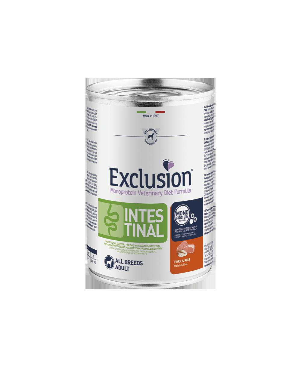 Exclusion Diet Intestinal Maiale e Riso Umido