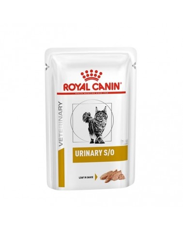Royal Canin Feline Veterinary Diet Urinary S/O Loaf in Sauce 85 g