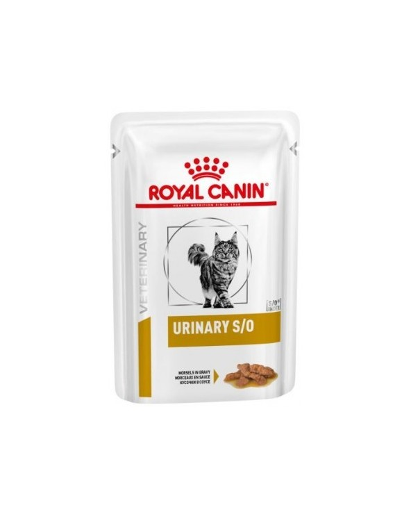Royal Canin Feline Veterinary Diet Urinary S/O Morsels in Gravy Bocconcini in Salsa 85 g