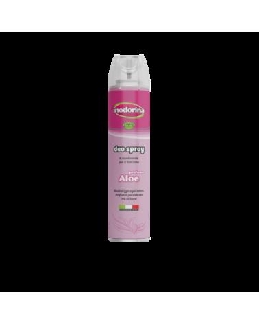 Inodorina Deo Spray Deodorante per Cani Profumo Aloe Vera 300 ml