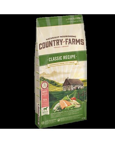Country Farms Classic Recipe Adult con Salmone Polpa di Mele e Salvia 2.5 Kg