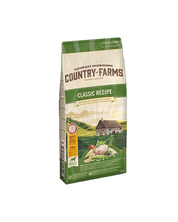 Country Farms Classic Recipe Adult con Pollo Polpa di Mele e Salvia 2.5 Kg